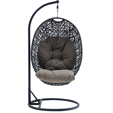 outdoor furniture wicker hanging egg