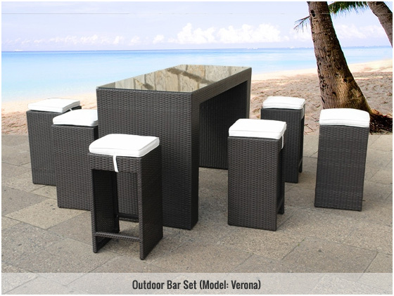Jazz up your Patio Parties with an Outdoor Patio Bar!